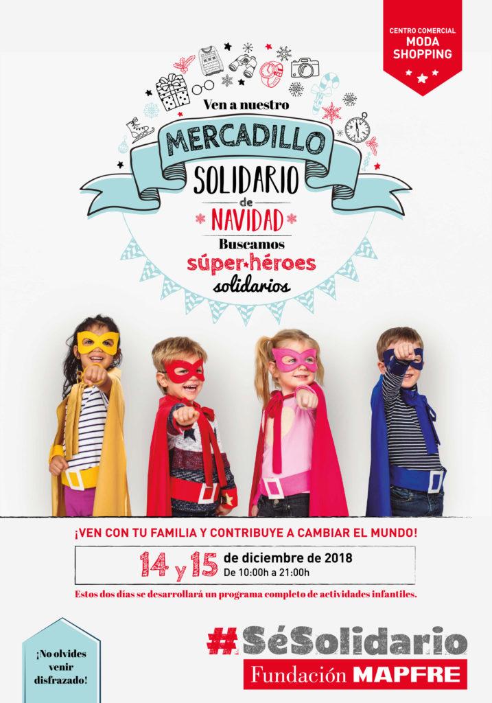 Mercadillo Solidario de Fundación MAPFRE Moda Shopping